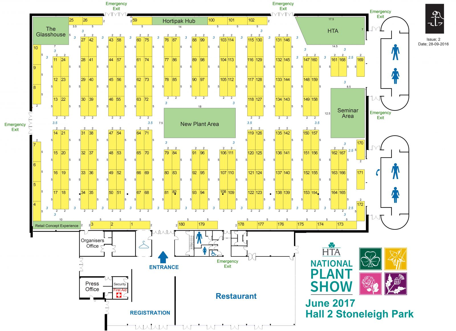 Visit Us At The Hta National Plant Show On The 20th And